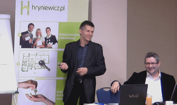 Piotr Hryniewicz i Sławek Śniegocki - Seminarium dla inwestorów w nieruchomości