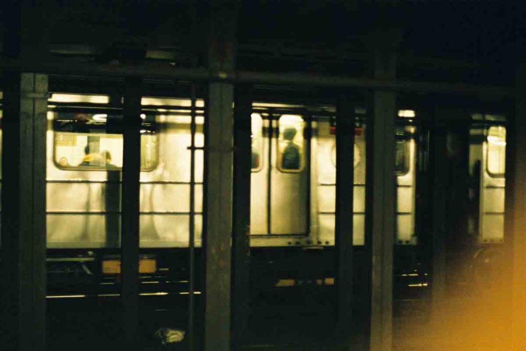 Wagonik metra w Nowym Jorku