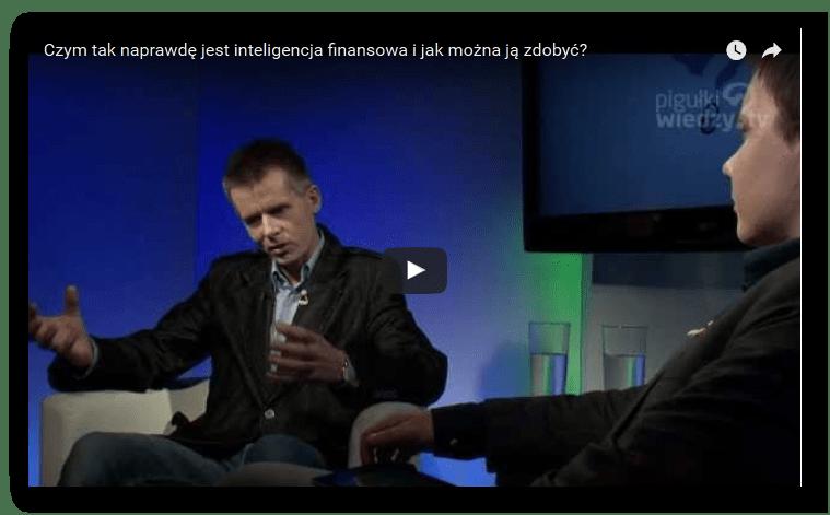 Czym jest inteligencja finansowa? - wywiad Słaowmir Śniegocki