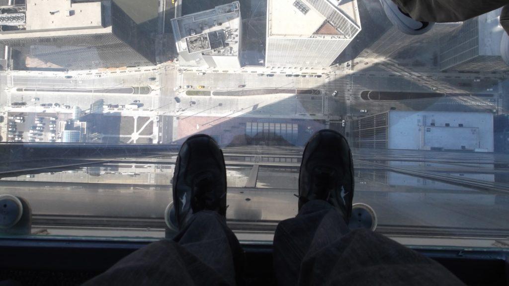 Zbyt dużo długu - widok z Willis Tower, Chicago USA