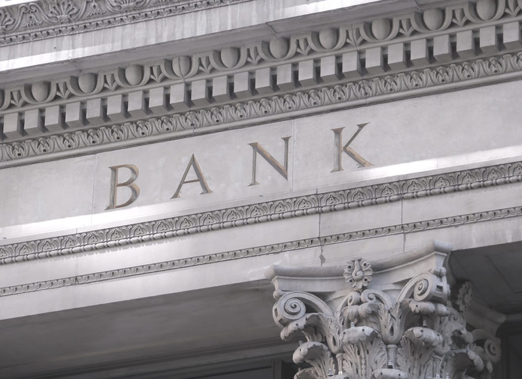 Fronton banku