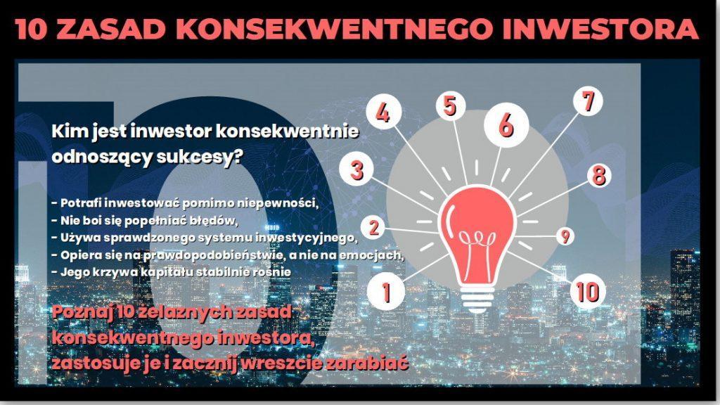 """Pobierz Przewodnik """"10 zasad Konsekwentengo Inwestora"""""""