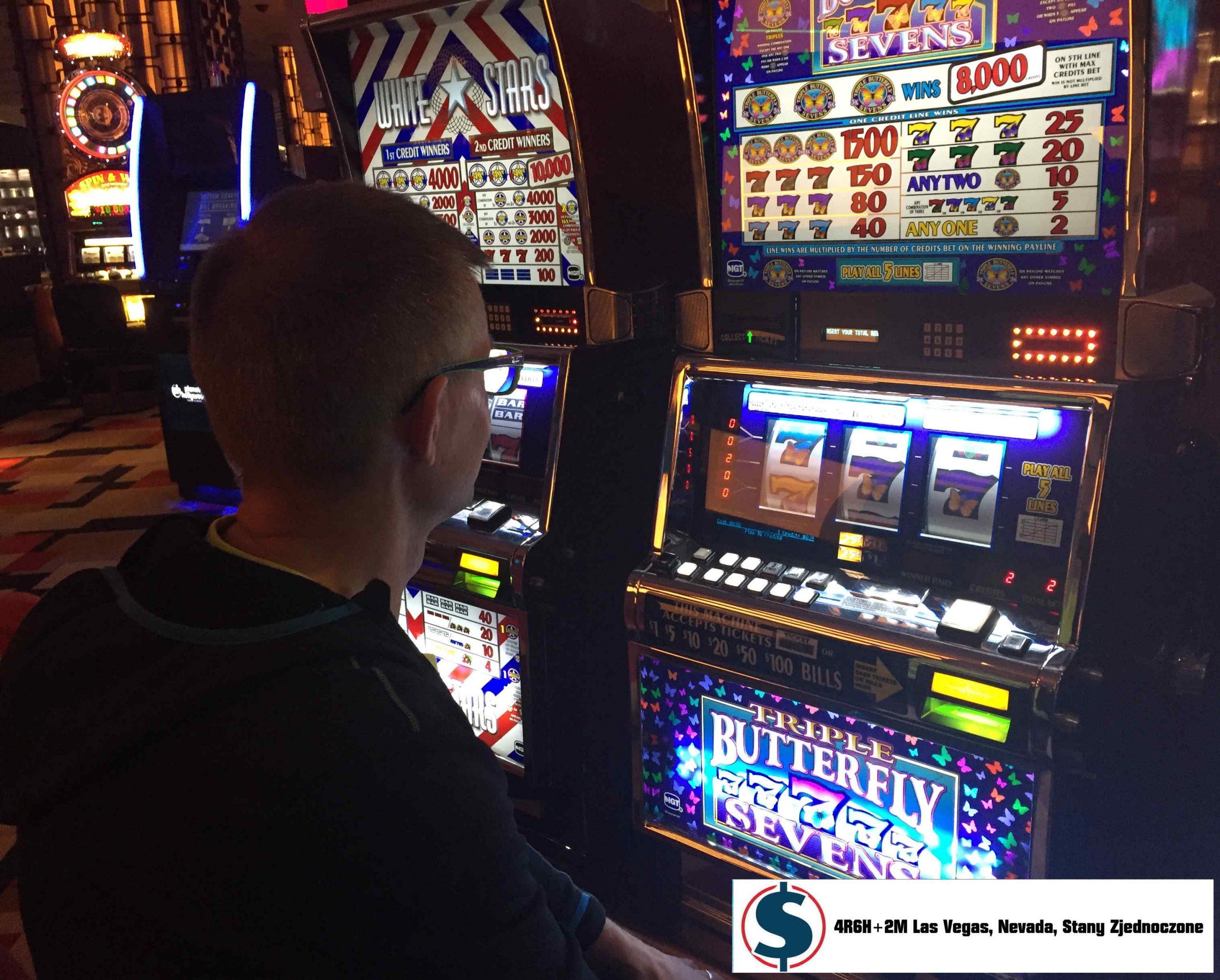 Dlaczego giełda przypomina kasyno? Automaty do gry 4R6H+2M Las Vegas, Nevada, Stany Zjednoczone