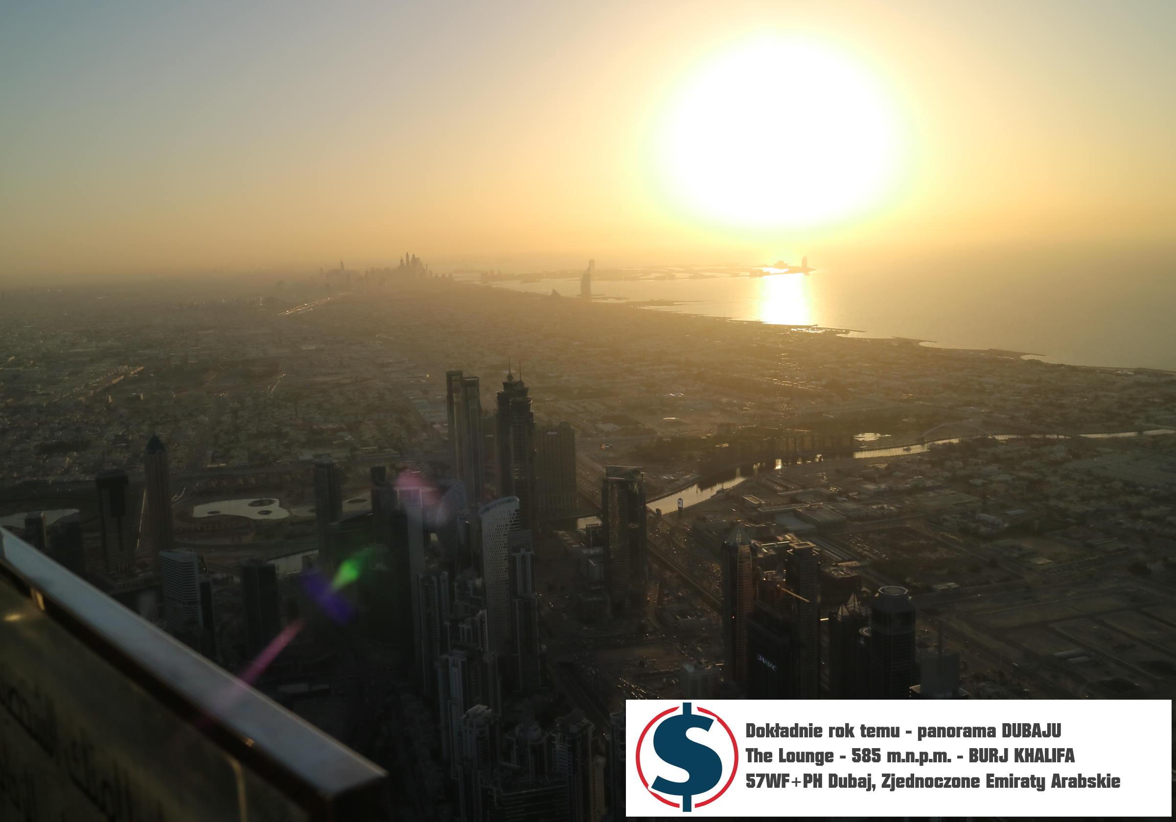 Najwyższe miejsce gdzie może dotrzeć turysta - The Lounge 585 m 57WF PH Burj Khalifa ZEA