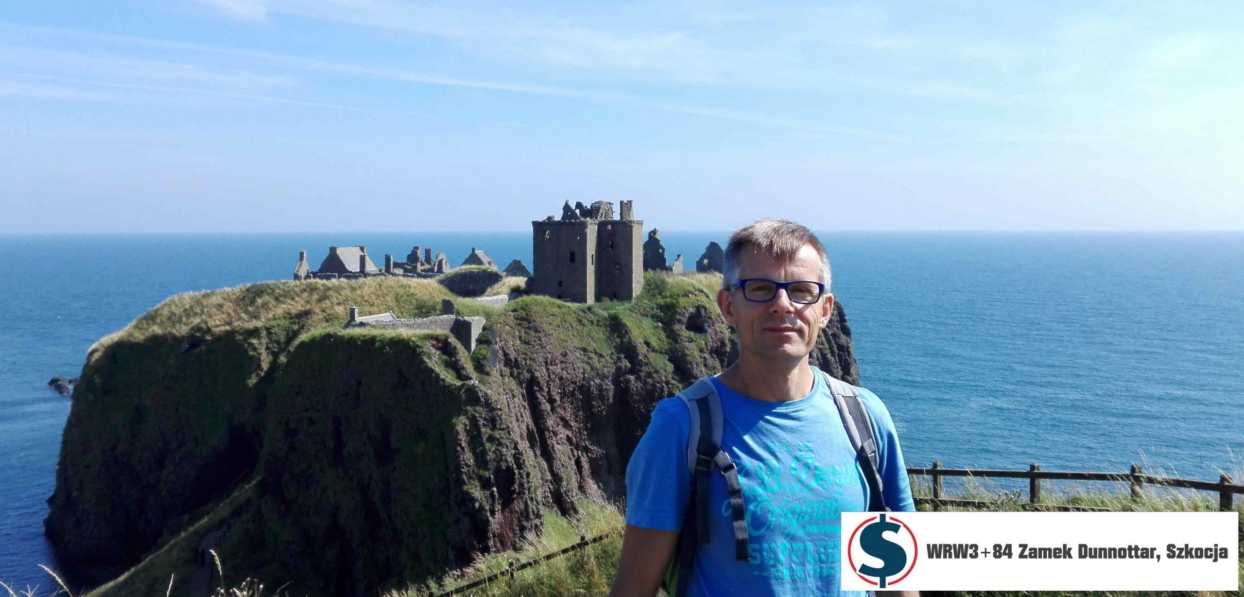 Nawet zamku w Szkocji nie wliczysz do swojego majątku netto - WRW3+84 Zamek Dunnottar Stonehaven Szkocja