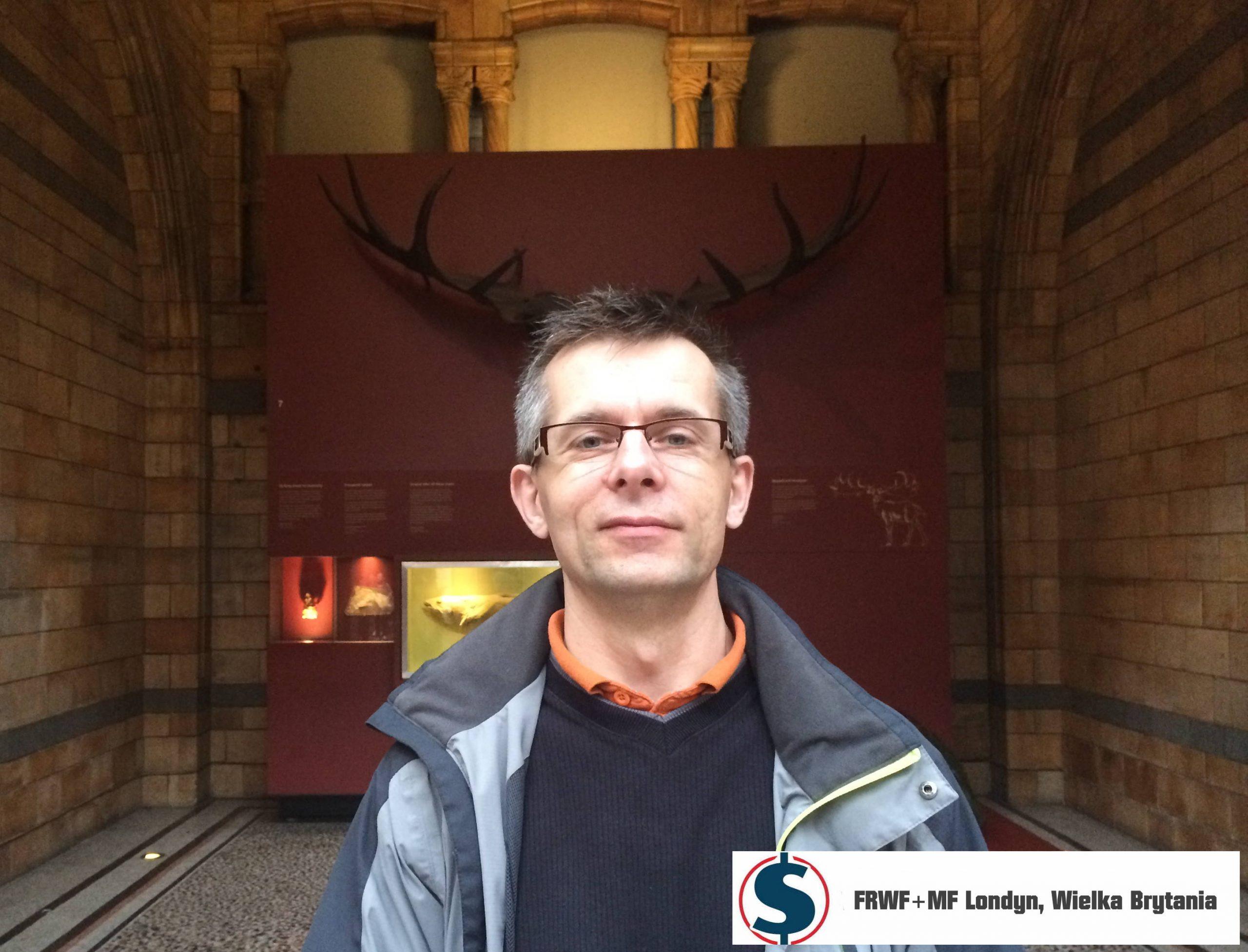 Eksponat z Muzeum Historii Naturalnej Londyn