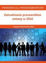 książka Zatrudnianie pracowników – zmiany w 2016 (Wersja audio (MP3))